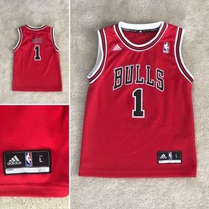chicago bulls d rose jersey